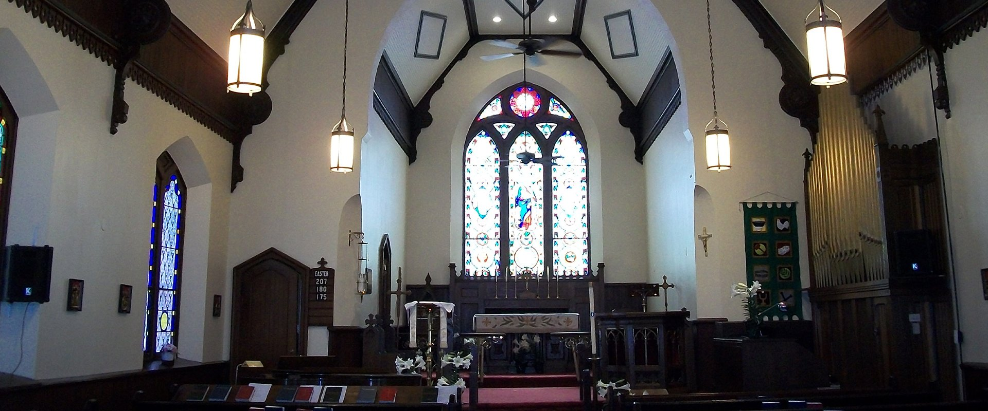 Holy Cross Church Interior